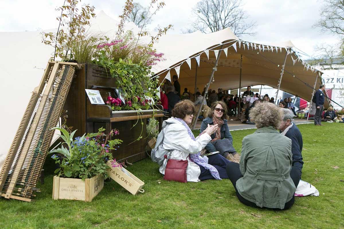 Cheltenham Jazz Festival landscaping