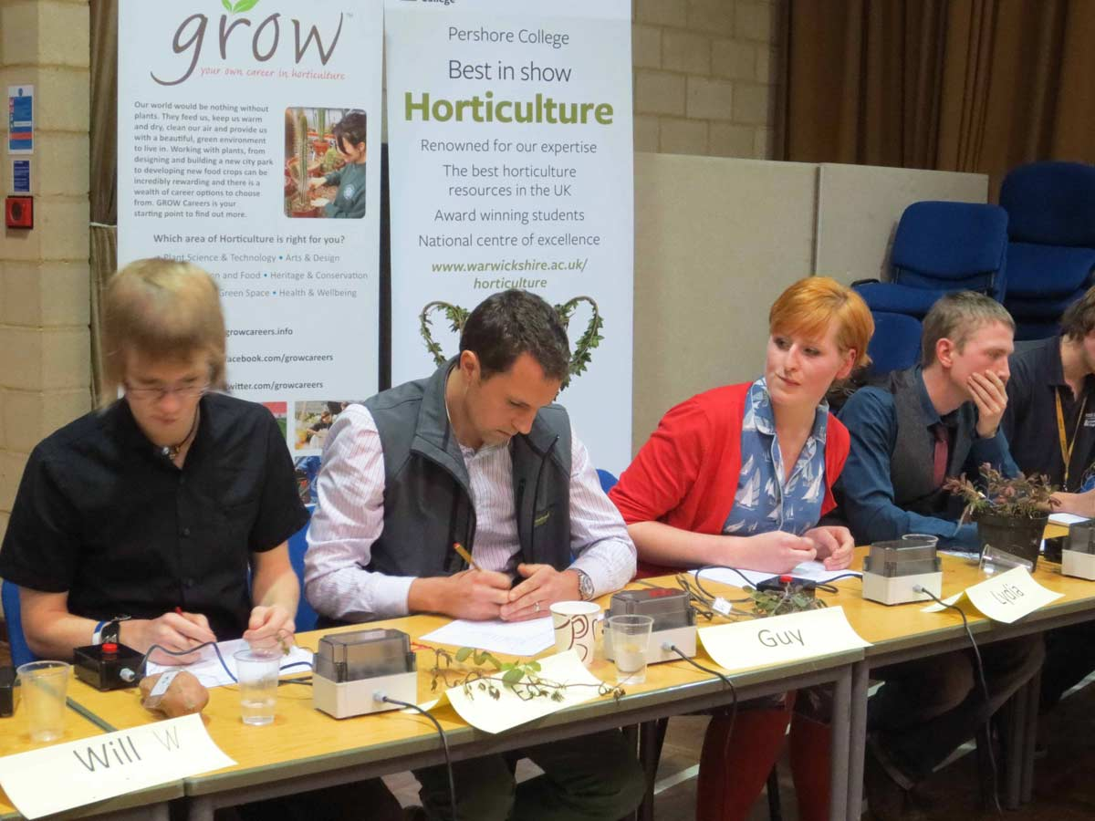 Young Horticulturalist of the Year Cheltenham garden design