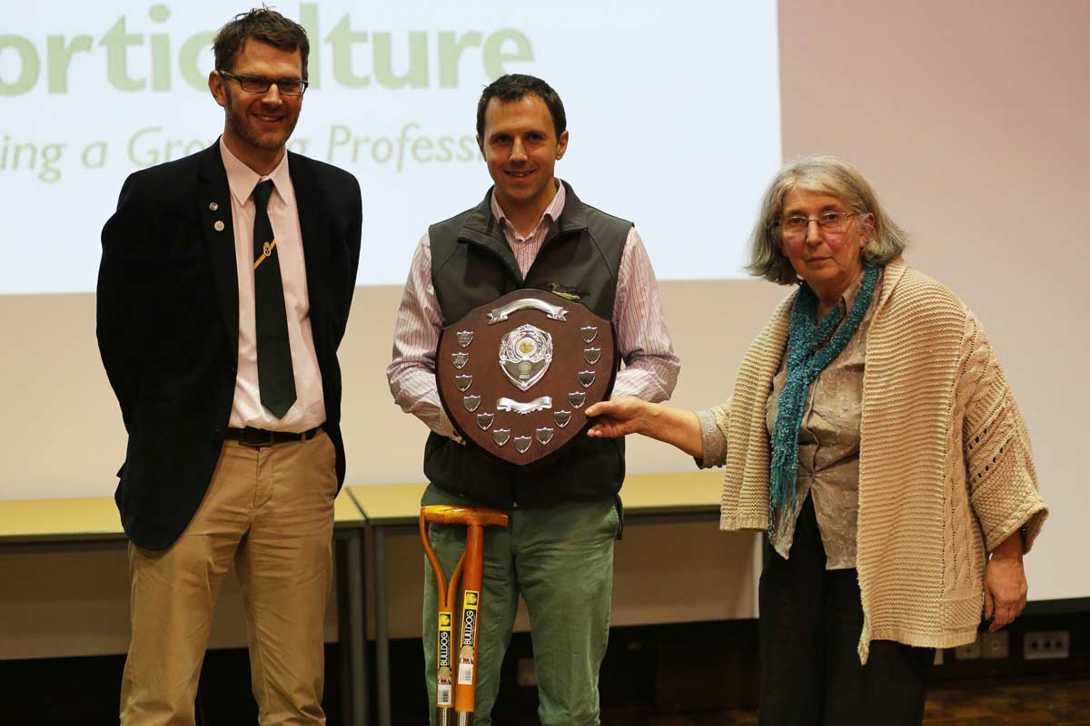 Young Horticulturalist of the Year Cheltenham winner