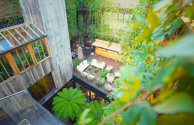 The Mandrake Hotel garden design and landscaping
